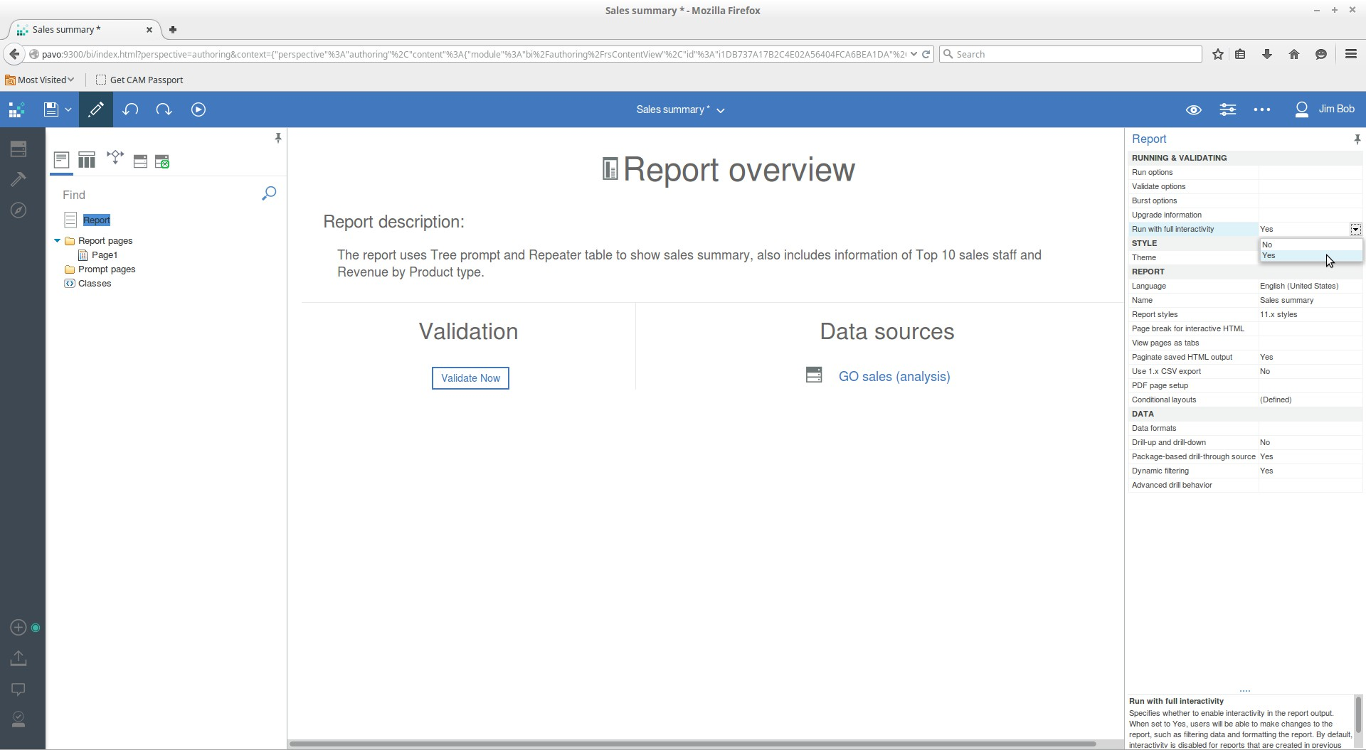 Cognos Reports Overview