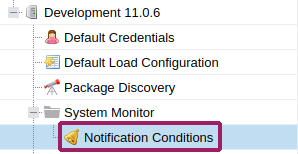 ReportCard notification conditions