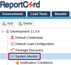 ReportCard system monitoring