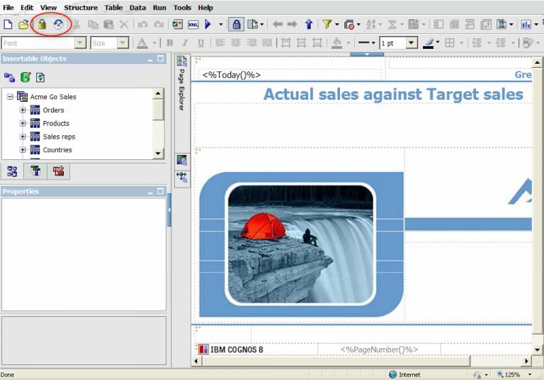 Version Control in Cognos Report Studio